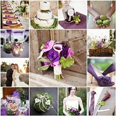 purple and green rustic wedding the blushing