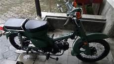Modifikasi Motor Bebek Jadi Sepeda by Modifikasi Unik Dan Menarik Sepeda Motor Antik Honda 70