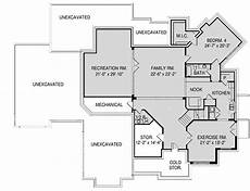 modern four bedroom house plans spacious 4 bedroom modern home plan with lower level