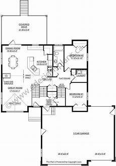 bi level house plans with garage bi level home 2013688 by edesignsplans ca bi level homes