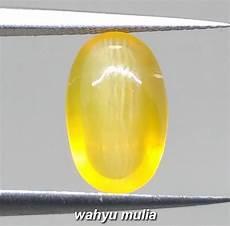 Mata Kucing Yellow 4 batu mata kucing kuning asli opal cat eye kode 1038