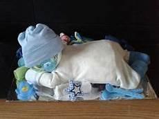 Tolles Geschenk Zur Geburt Ein Baby Aus Windeln