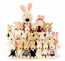 le sucre法國兔砂糖兔 格子披風裙款 45cm 法國兔 砂糖兔系列 婚禮小物 娃娃屋樂園