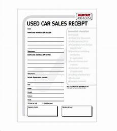 car sales receipt template 119 best receipt template images on sle