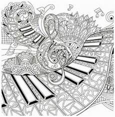 Mandala Malvorlagen Musik Ausmalen Erwachsene Musik Coloring Pages Doodles