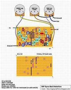 guitar fx layouts bjfe dyna distortion