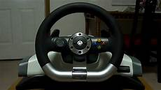 review xbox 360 wireless racing wheel