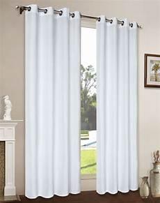 gardinen mit ösen vorhang gardine blickdicht matt schal aus microsatin