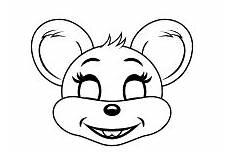 Malvorlagen Tiere Zum Ausdrucken Selber Machen Kinderleicht Mausmaske Basteln Masken Basteln Basteln
