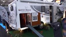 motorhome with a motorhome for dogs the liner t730
