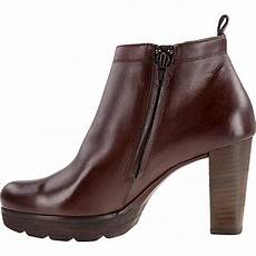 paul green brown saddle leather boots booties size