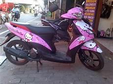 Variasi Motor Mio J by Variasi Motor Mio J Gt Hello Ketty Cantik Radja Sticker
