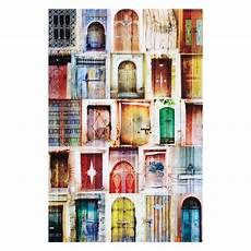 Tableau Photo En Plexi 80x120cm Portes Du Monde Maisons