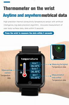 Bakeey Temperature Measurement Rate Blood by Bakeey F29 Temperature Measurement Rate Blood