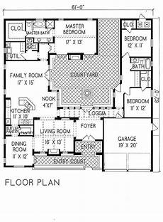 spanish house plans with inner courtyard villa sublaco 1 1215 period style homes plan sales 2350