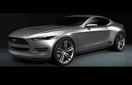 2015 Ford Mustang  Concept Model 3D Rendering Car Body