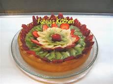 crostata con crema pasticcera e fragole crostata con fragole banane kiwi e crema pasticcera fulvia s kitchen