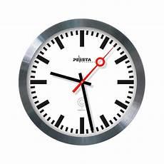peweta railway style wall clock with radio 30 cm