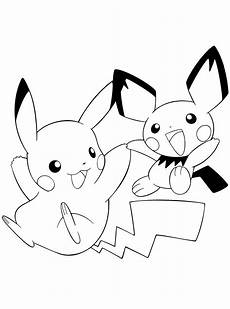 Malvorlagen Pikachu Ausmalbilder Pichu Ausmalbilder