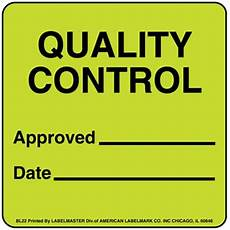 quality control label warehouse labels blt22