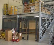 Mezzanine En Metal Steel Mezzanines And Work Platforms For Warehouse Storage