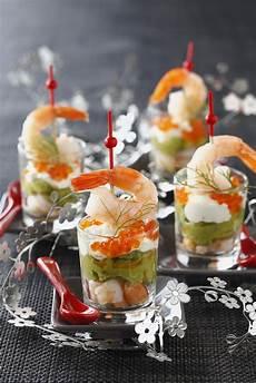 der schnelle partyhit avocado shrimp cocktail