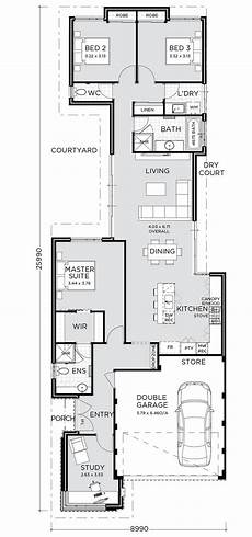 house plans for long narrow lots element exclusive narrow house plans narrow house