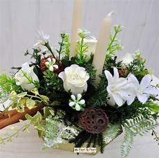 composizioni candele e fiori composizione fiori artificiali per decorazioni