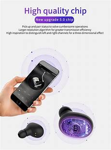 Gorsun Bluetooth Earphone Hifi Stereo Touch by Accessories Gorsun V8 Tws Bluetooth 5 0 Earphone Hifi