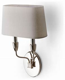 waterworks dunhill wall mounted double arm sconce with fabric shade traditional wall sconces