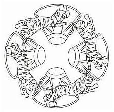 Malvorlagen Mandala Zirkus Mandala Acrobaten Zirkus