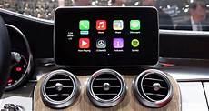 apple carplay mercedes apple carplay mercedes stellt 2016er lineup vor