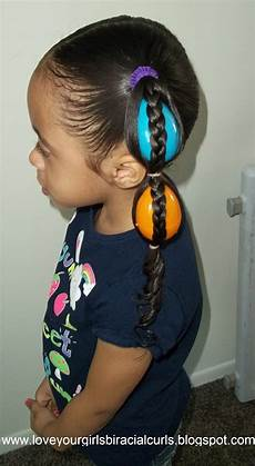 love your girls biracial curls egg tails easter hairstyle