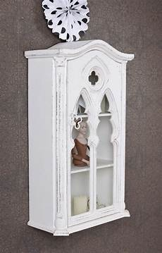 Hängeschrank Antik Weiß - sammelvitrine weiss vitrine h 228 ngeschrank wandregal