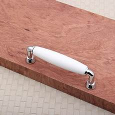 96mm kitchen cabinet handle white ceramic dresser pulls silver chrome drawer dresser cupboard