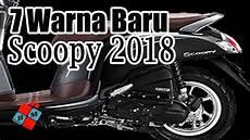 Modifikasi Scoopy 2018 Terbaru by 73 Modifikasi Scoopy 2018 Warna Merah Hitam Terbaru Beemotor