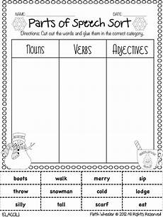 worksheets speech 19060 98 best images about free parts of speech printables activities on verbs