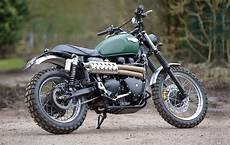 racing caf 232 triumph scrambler by spirit of the seventies
