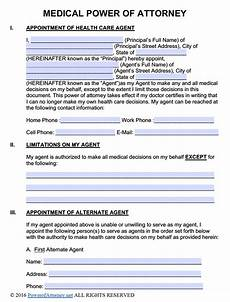 medical power of attorney forms pdf templates power of attorney power of attorney