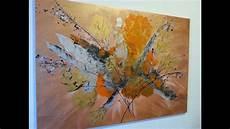 Acrylbilder Modern Selber Malen - malen mit acrylfarben abstrakt mit spachtel easy
