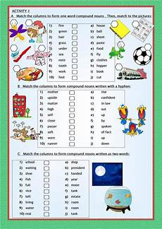 compound nouns worksheet free esl printable worksheets made by teachers