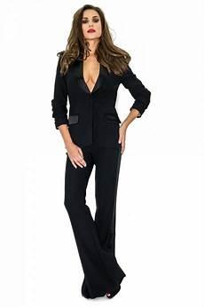 pantalon de tailleur noir femme