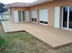 terrasse composite castorama mailleraye fr jardin