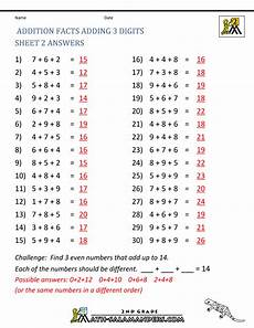 printable division worksheets with answer key 6916 math addition facts to 20