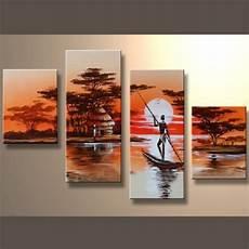 tableaux africain d 233 coration murale afrique peinture huile