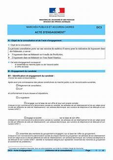 calam 233 o acte engagement dc3 logement garancieres