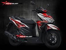 Modifikasi Striping Honda Vario 150 by Modifikasi Motor Matic Terbaru Striping Honda Vario 150