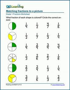 fraction worksheets level 1 4001 fractions worksheets parts of a whole k5 learning