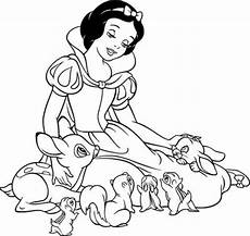 disney coloring pages snow white at getcolorings