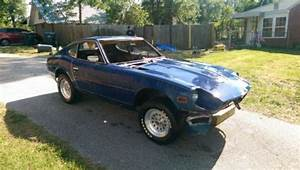 Sell New 1971 Datsun 240Z Solid Frame Rails Rolling